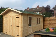 Houten Garage 3.2 x 5.2 44mm